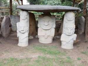 San Agustin - Parc archéologique
