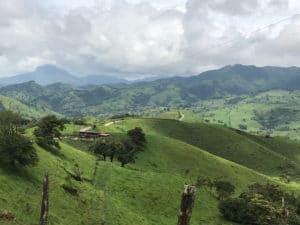 Paysages entre Monteverde et Volcan Arenal