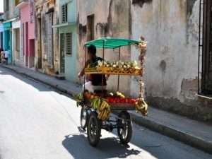 Marché ambulant à Camaguey