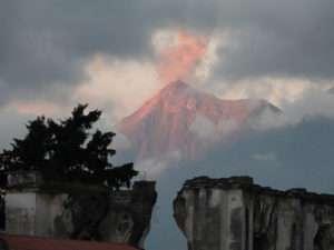 Antigua - volcan Agua