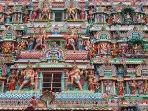 Temple au Tamil Nadu