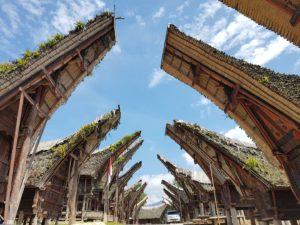 Sulawesi - Pays Toraja - Maisons Traditionnelles