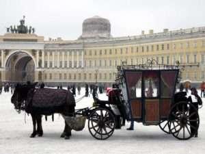 St Petersbourg en hiver