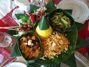 Bali - Rijstaafel (table de riz)