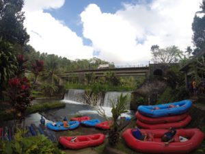 Bali - rafting