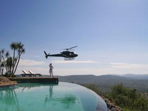 Laikipia Loisaba hélicoptère