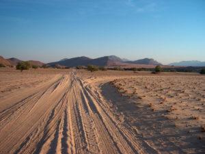 Pistes de Namibie