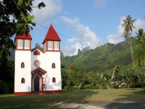 Moorea église