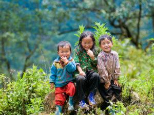 Enfants de Lao Caï