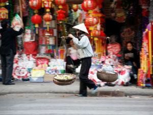 Hanoi - vendeur