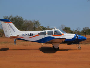 flying safari lower zambezi park